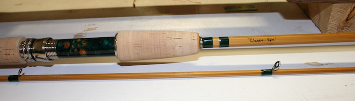 Bamboo Spinning Rod Grip